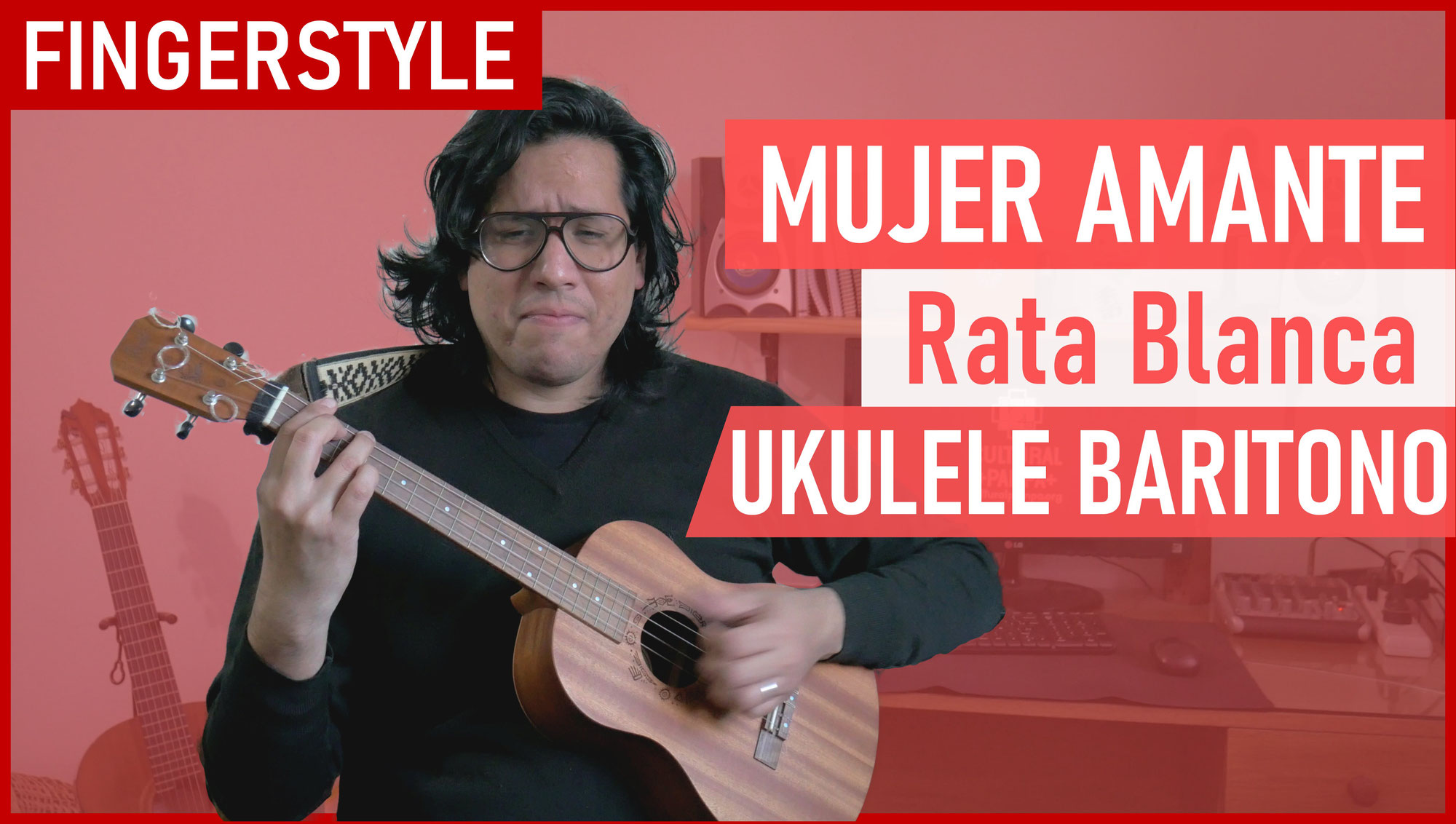 Mujer Amante (Rata Blanca) | Ukelele BARITONO Fingerstyle Cover