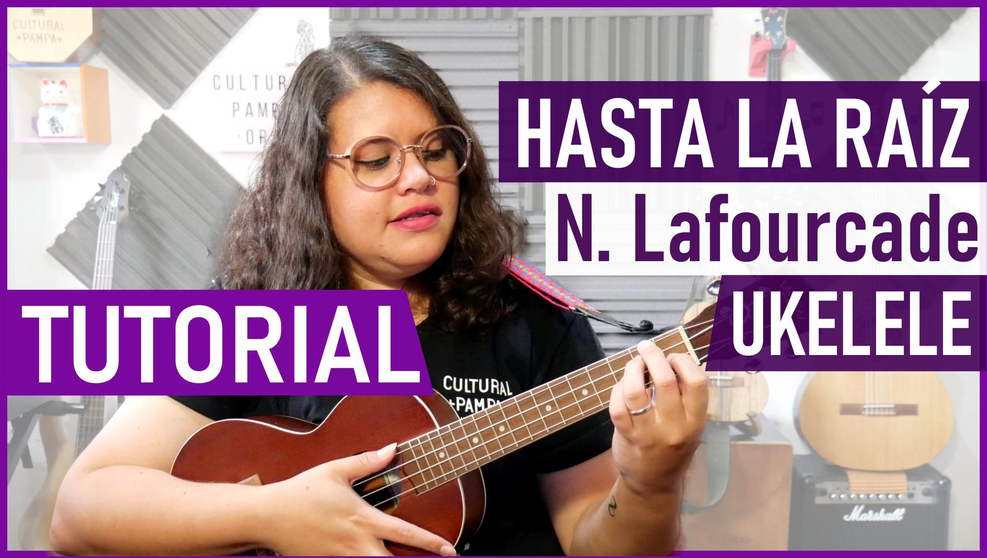 Cómo tocar Hasta la Raiz de Natalia Lafourcade en Ukelele   Tutorial Ukulele
