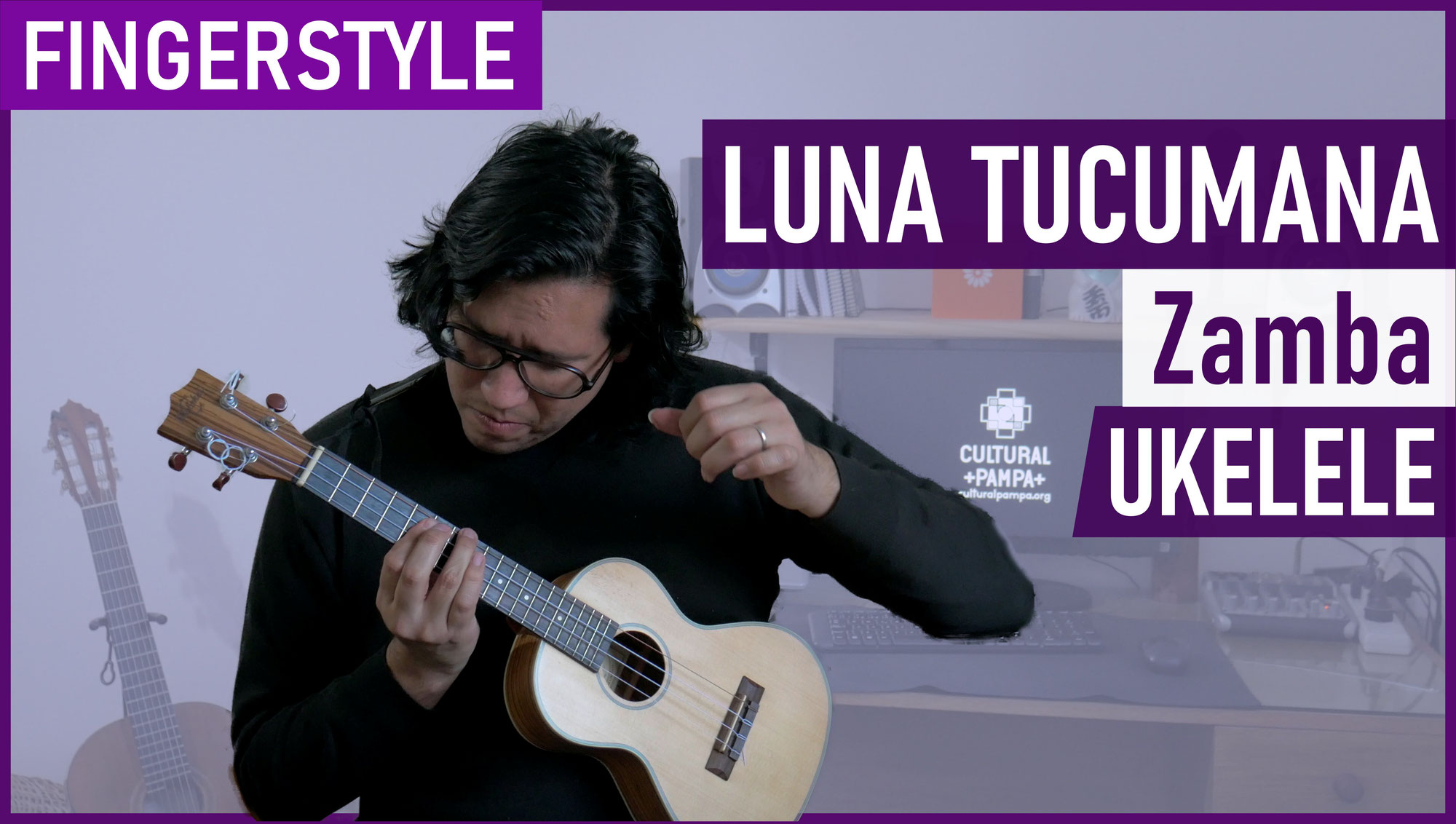 Luna Tucumana (Atahualpa Yupanqui)   Ukelele FINGERSTYLE Cover