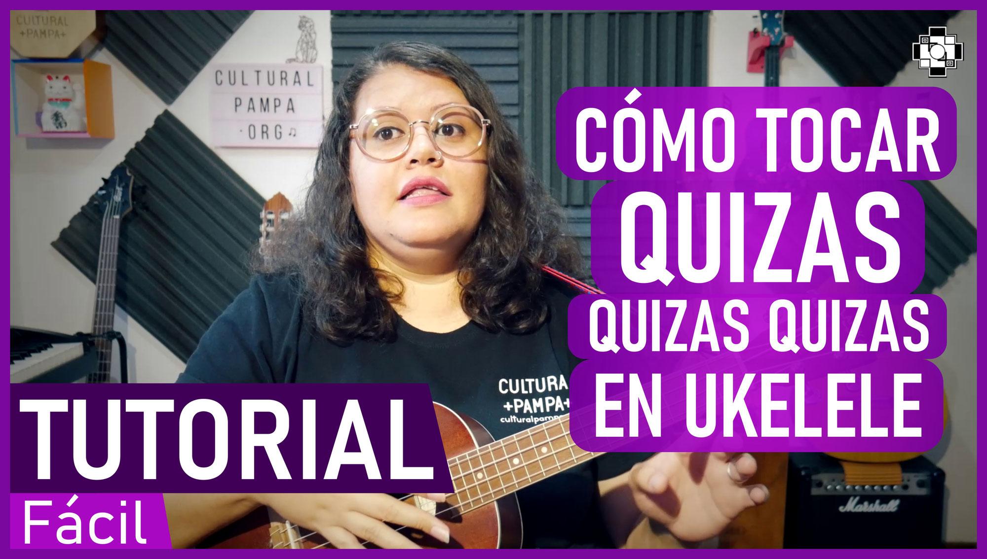 """Cómo tocar """"Quizás, quizás, quizás"""" en Ukelele   TUTORIAL Facil y Paso a Paso"""