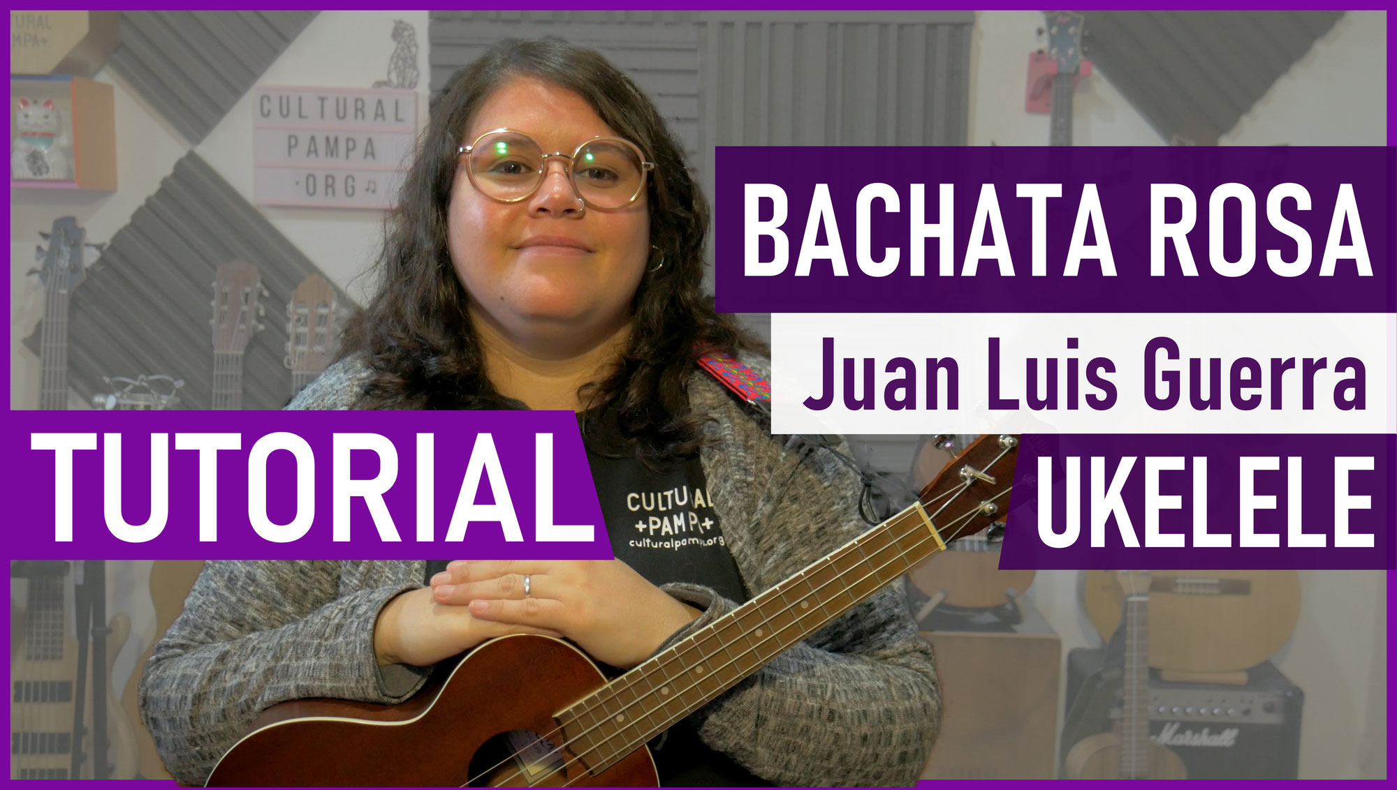 Como tocar Bachata Rosa (Juan Luis Guerra)   Tutorial Ukelele