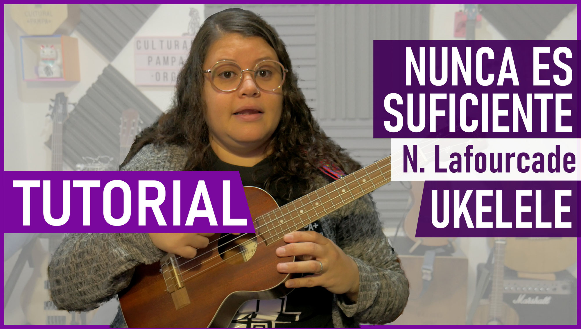 Como tocar Nunca es Suficiente (Natalia Lafourcade) en el Ukelele Facil y paso a paso