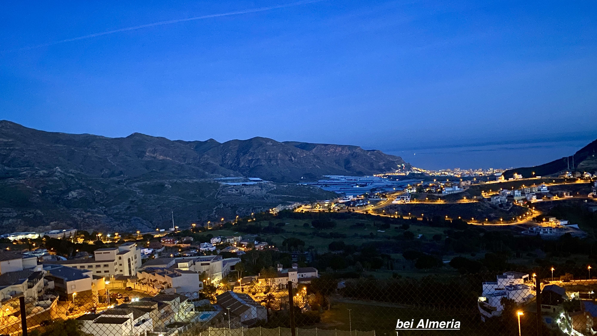 Stopp bei Almeria