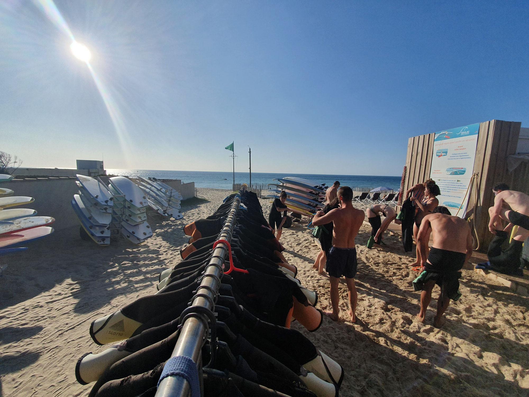 Soulac surf school pour les vacances de toussaint