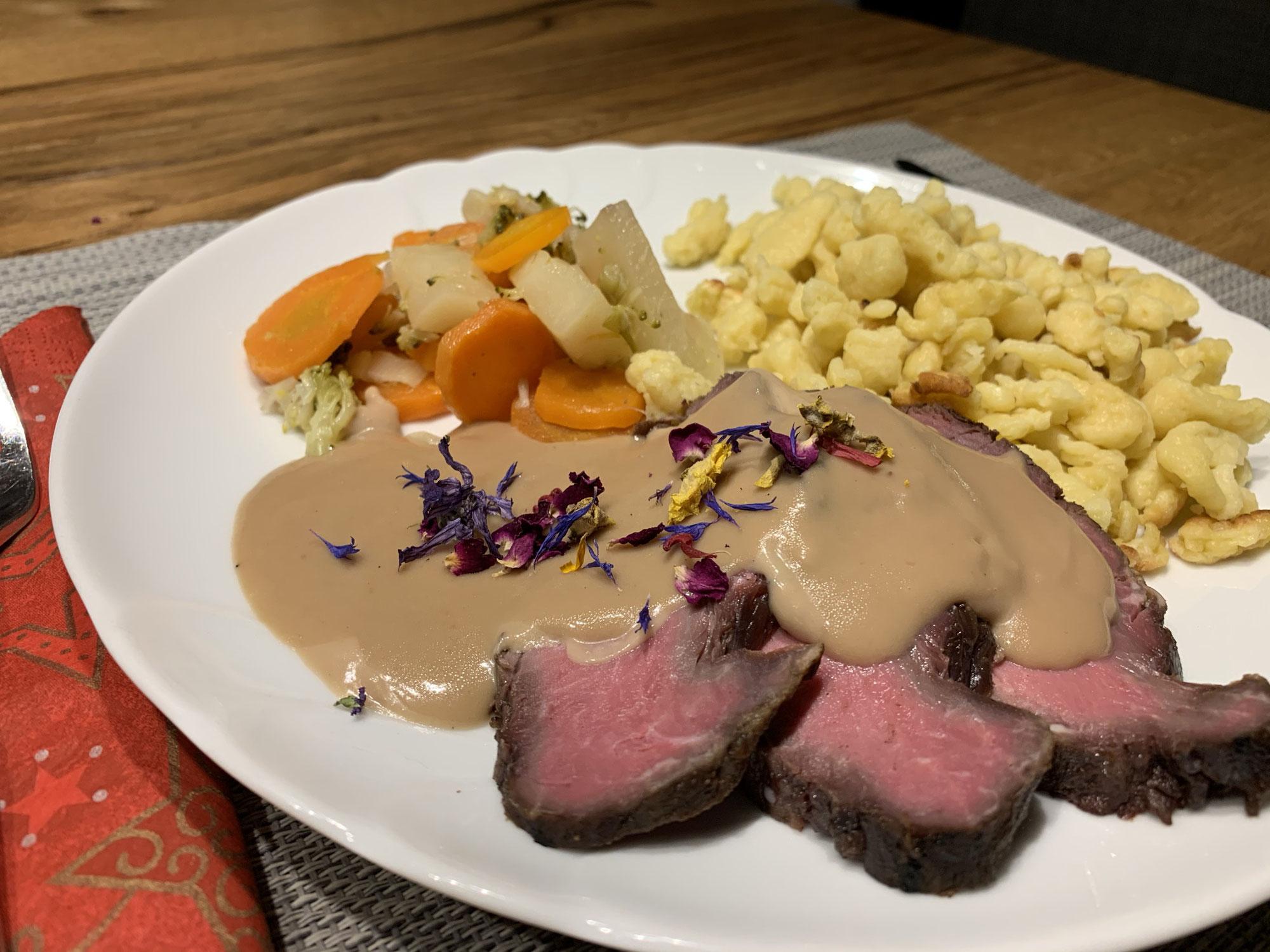 Galloway Beef à la Risi Hof