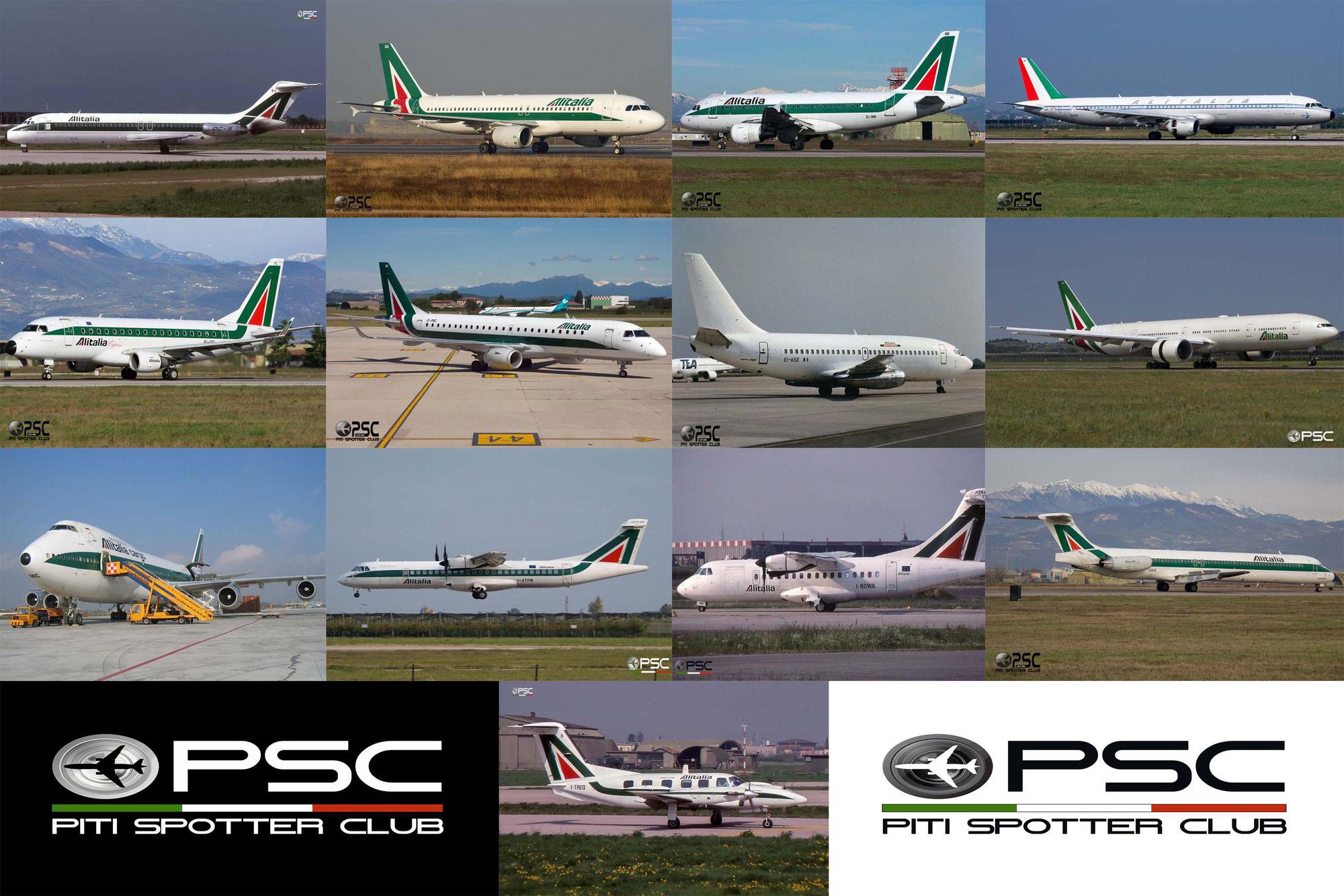 Addio Alitalia! Le immagini del PSC