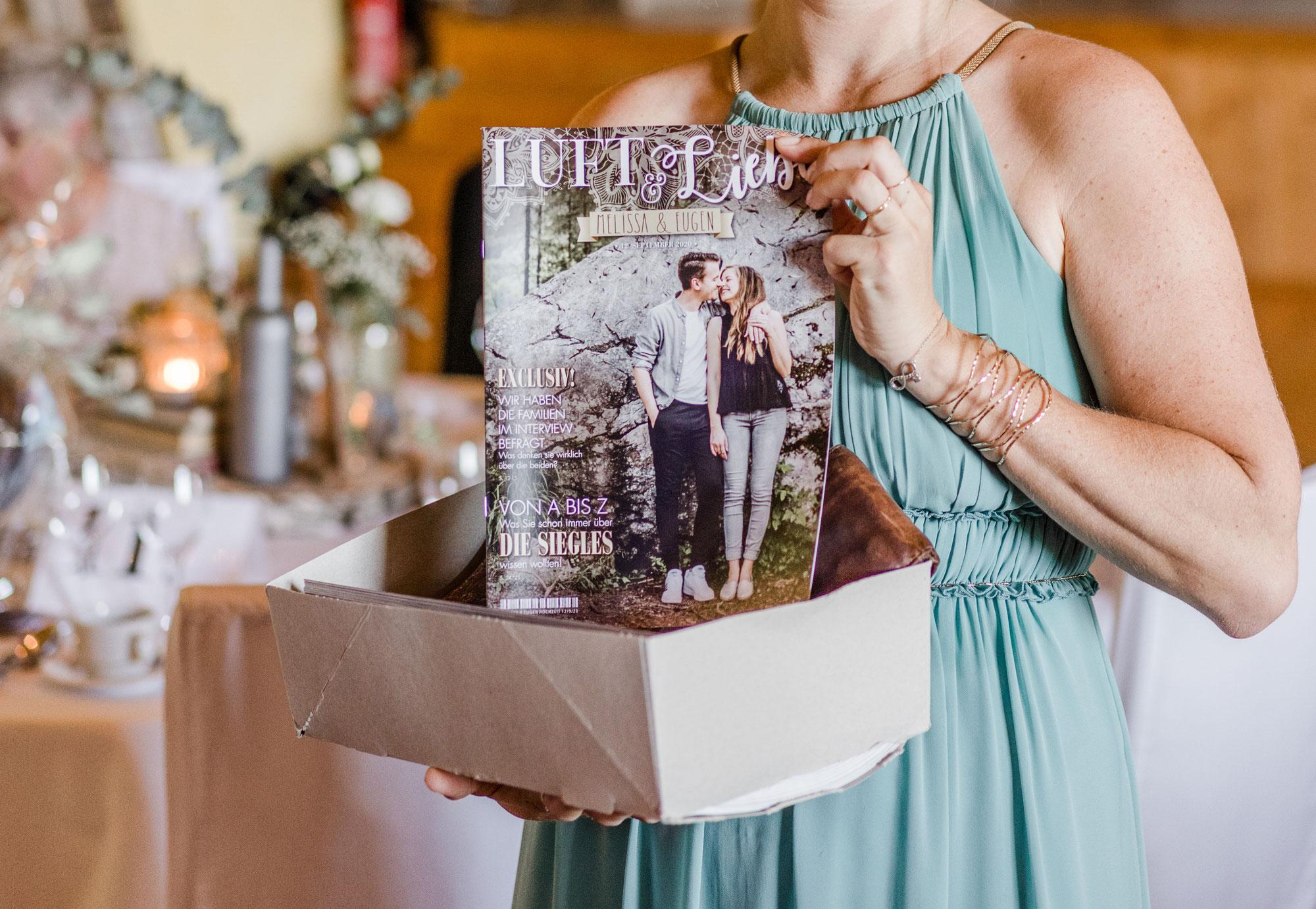 Hochzeitszeitung gefällig?