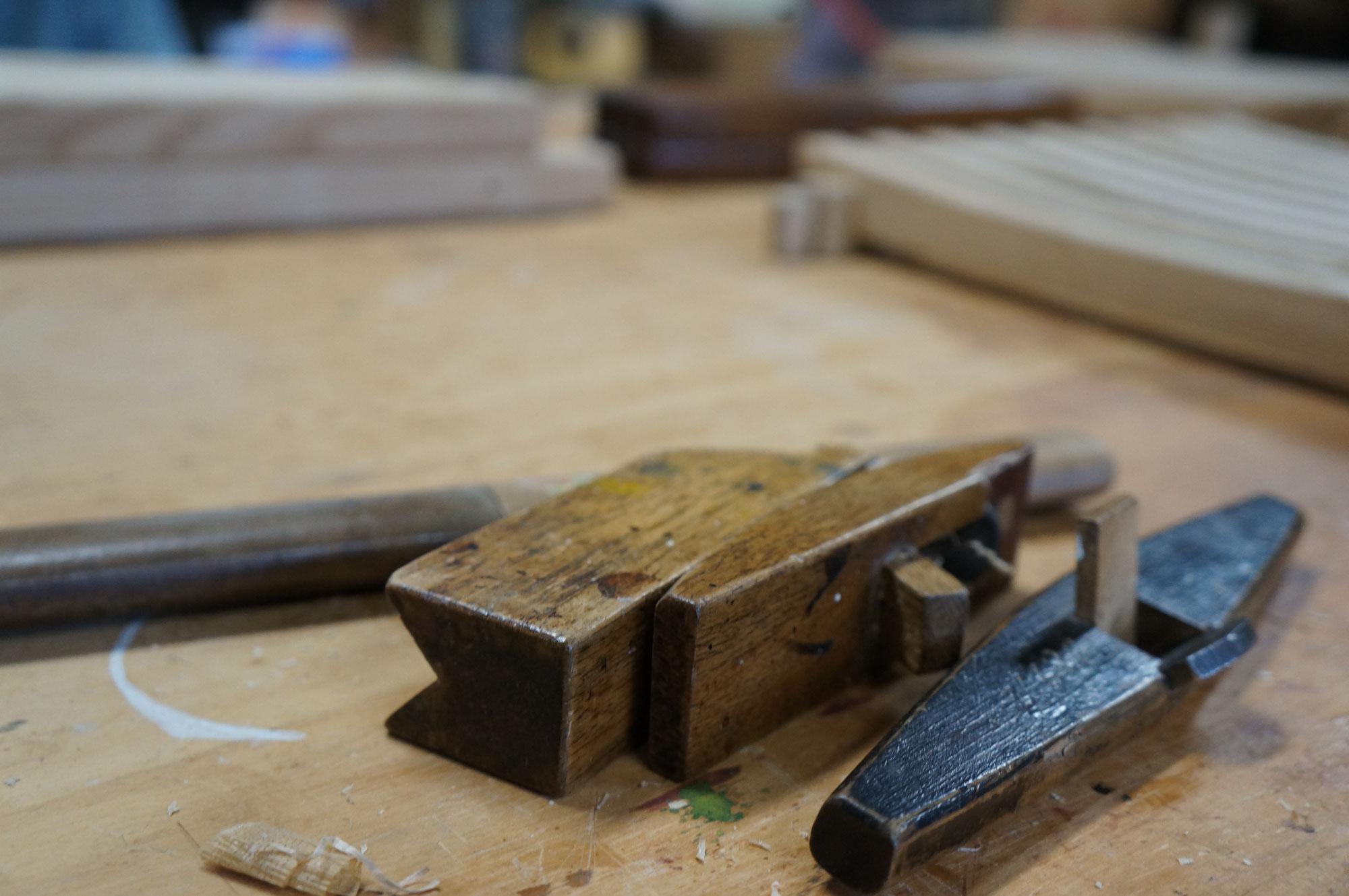 木工作品搬入の日