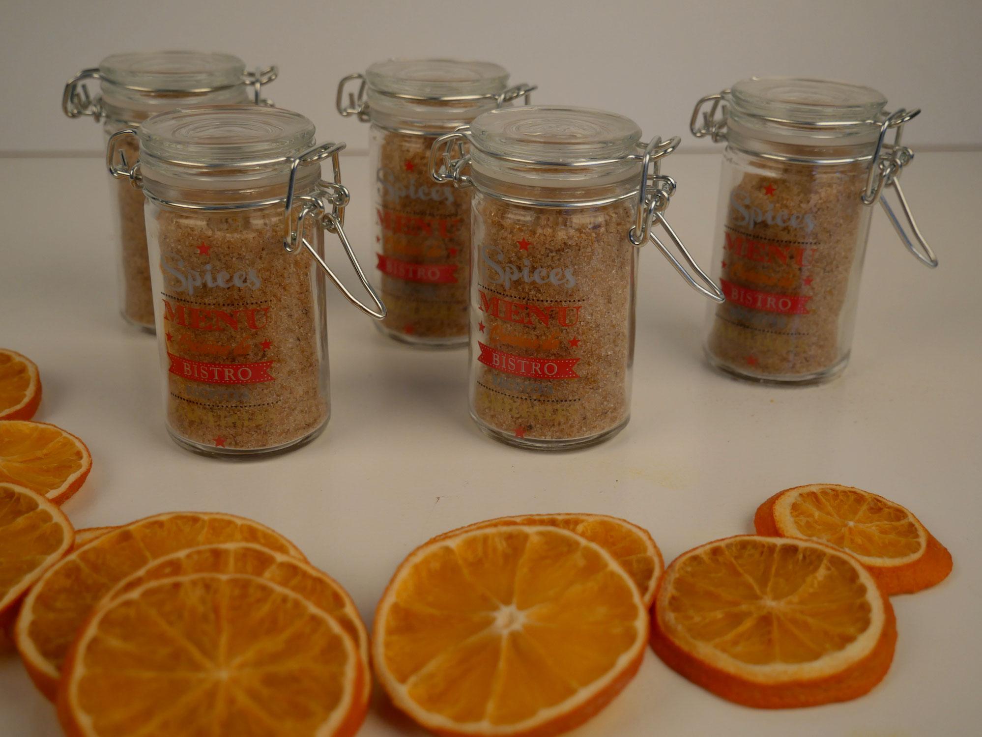 Orangenzucker selber machen