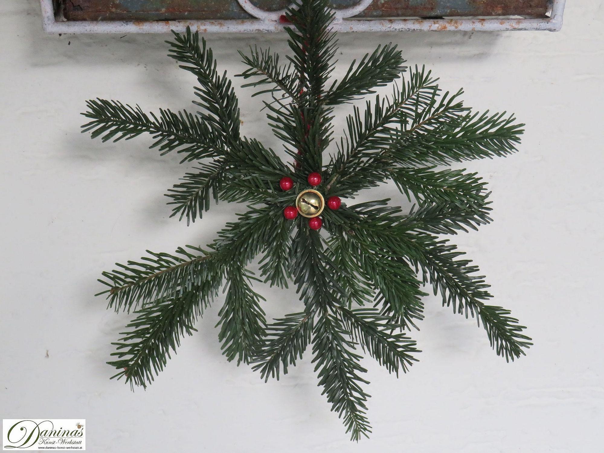 Weihnachtsstern basteln