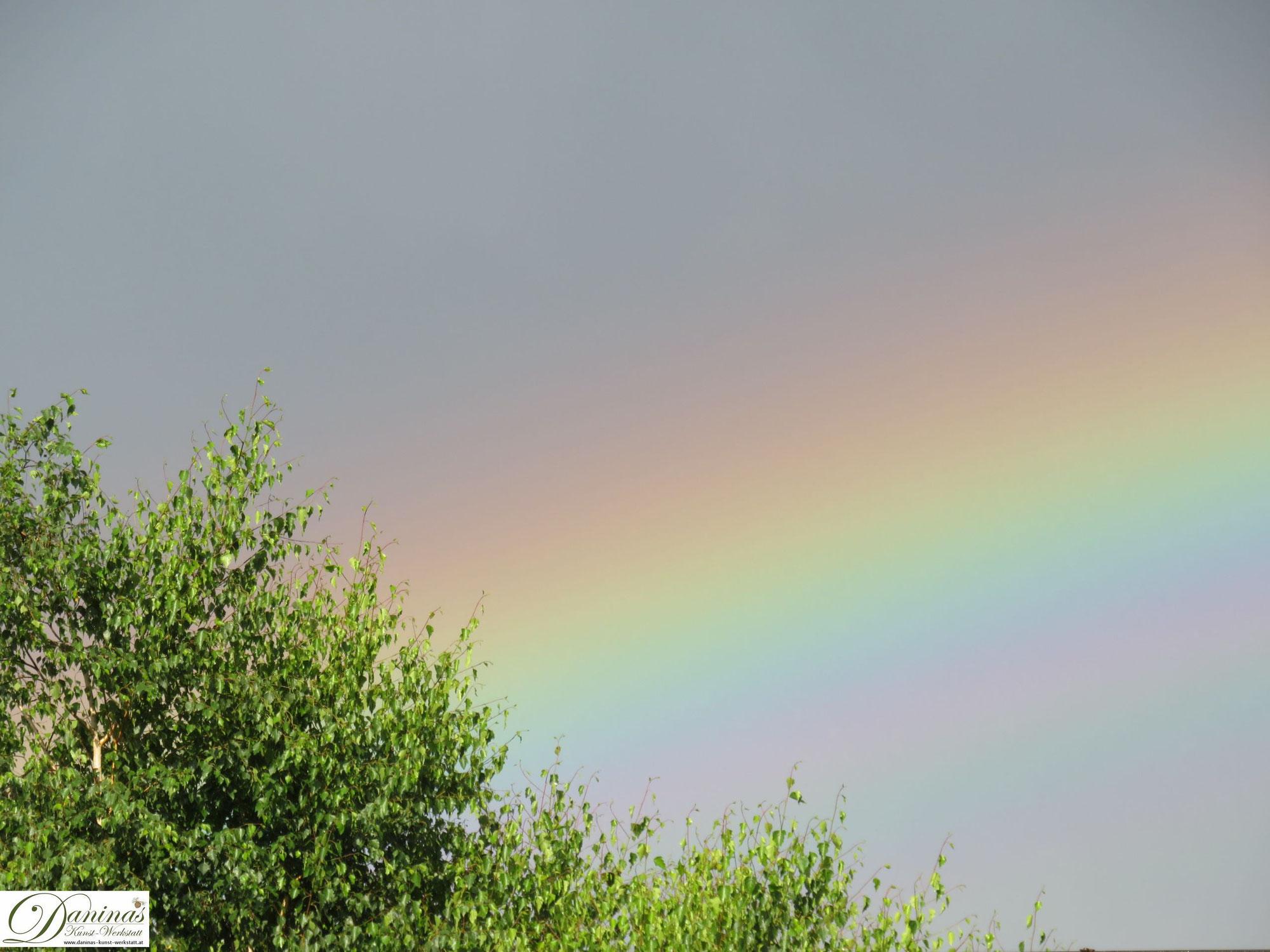 Regenbogen über Salzburg