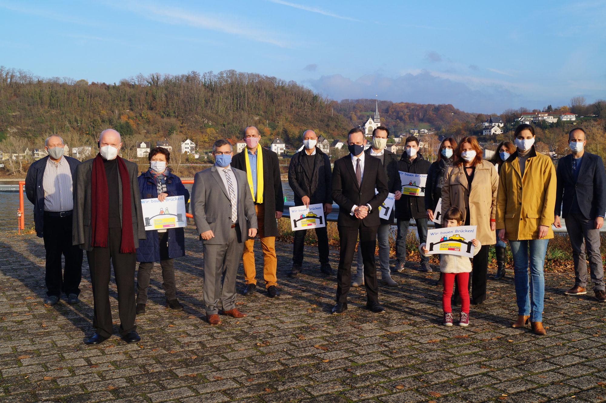 FDP bekräftigt Forderung nach neuer Rheinquerung