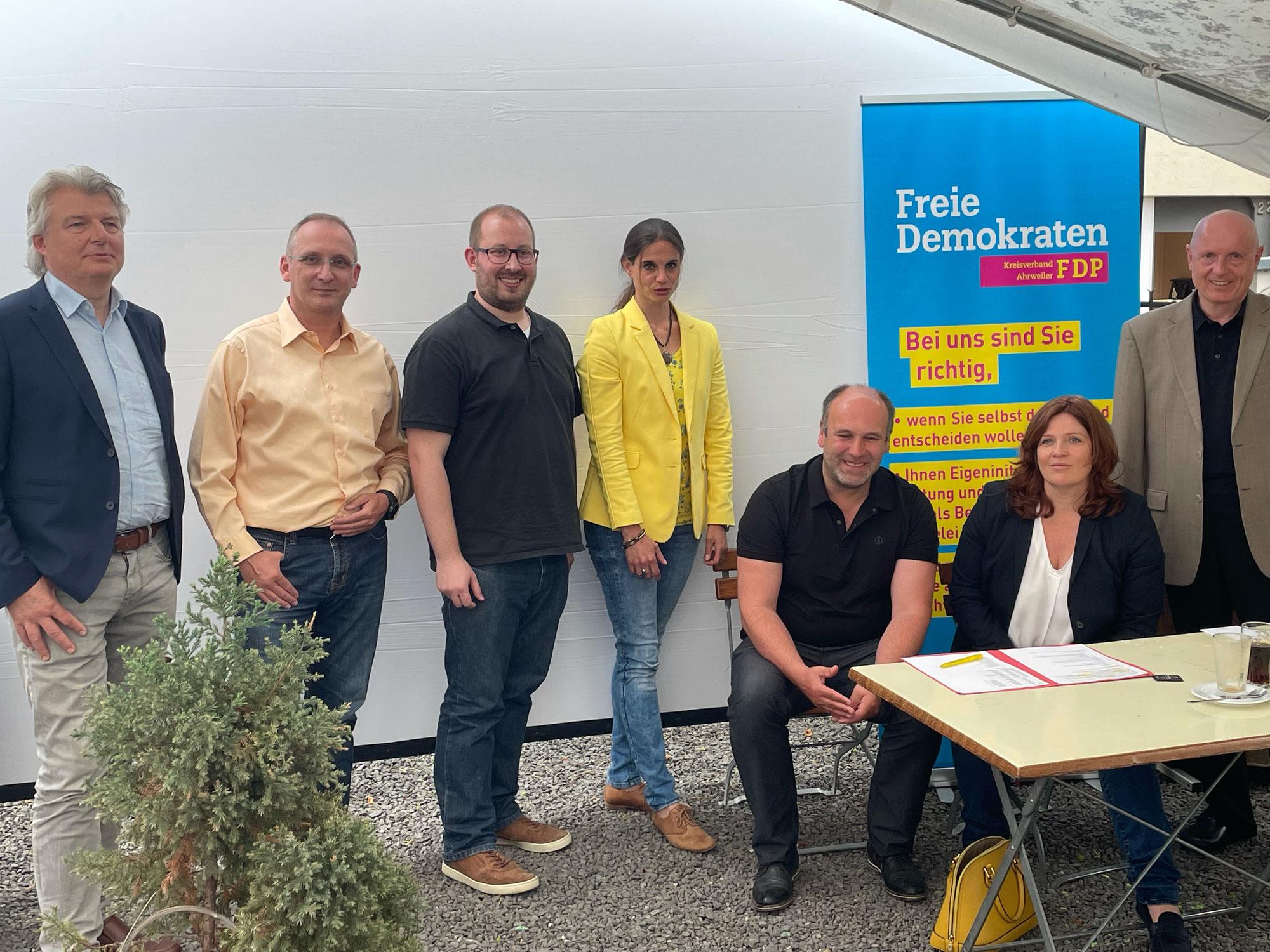 FDP sieht sich beim Kreisparteitag im Aufwind