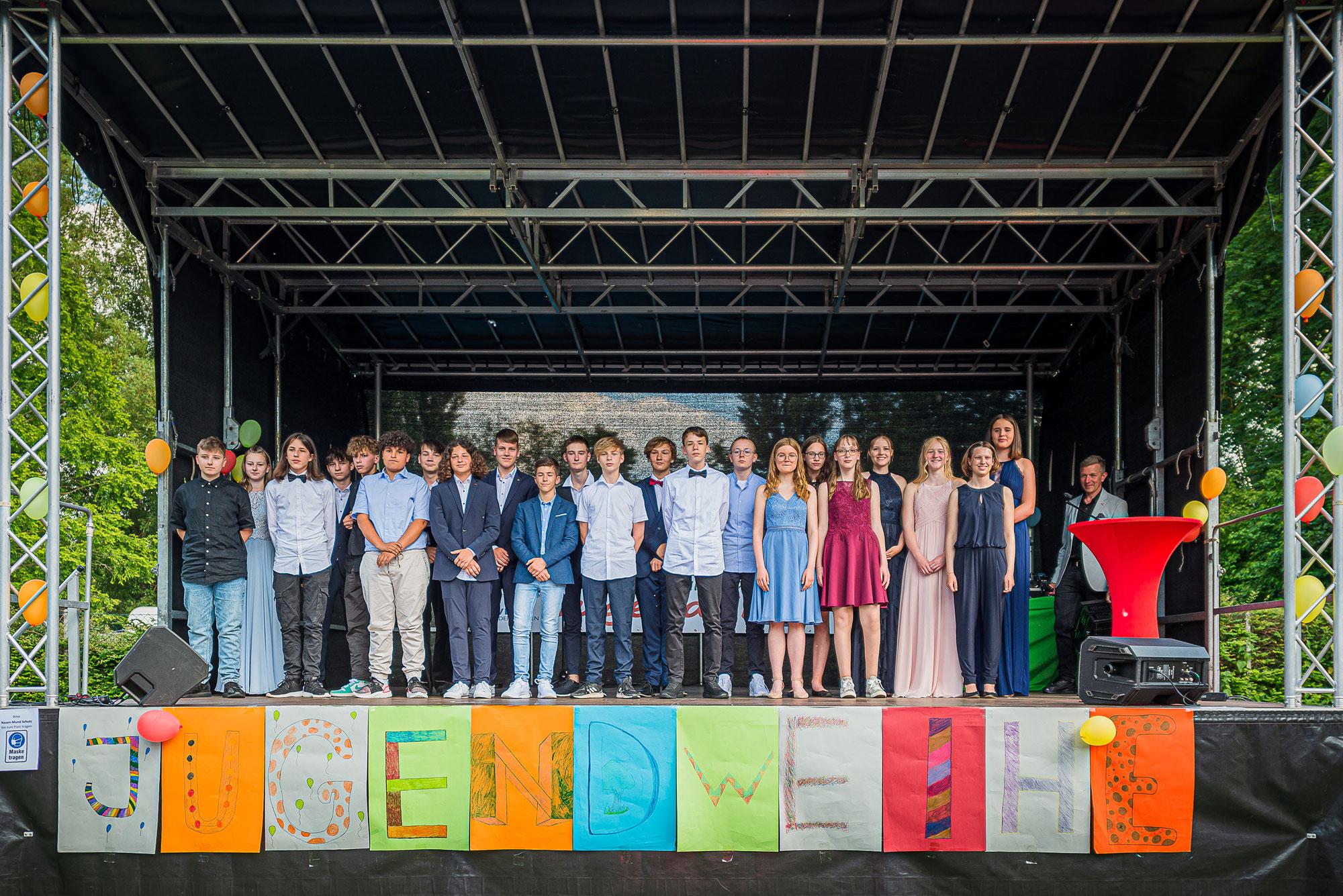 45 Jugendliche feierten ihre Jugendweihe