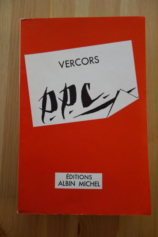 Vercors, P.P.C. ou Le Concours de Blois, Albin Michel, 1957, édition originale, un des 35 exemplaires de tête