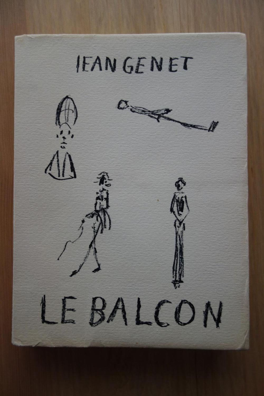 Jean GENET, Le Balcon, L'Arbalète, 1956, lithographie de Giacometti, édition originale