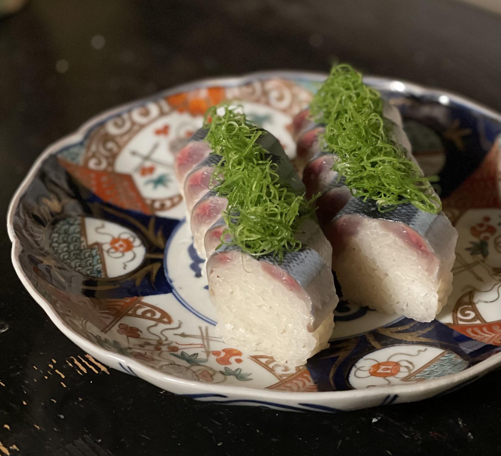 秋刀魚ずし