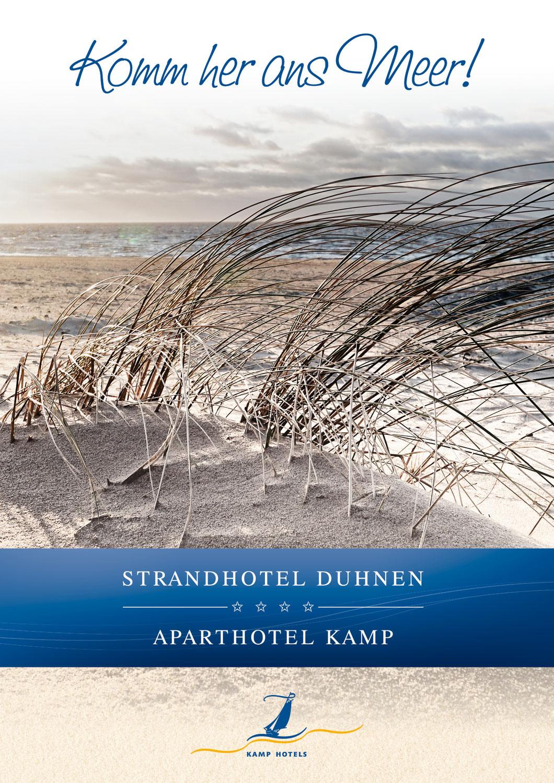Hotelprospekt Strandhotel Duhnen