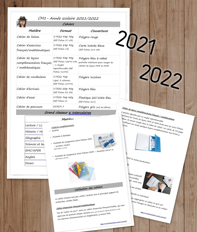 Cahiers 2021!