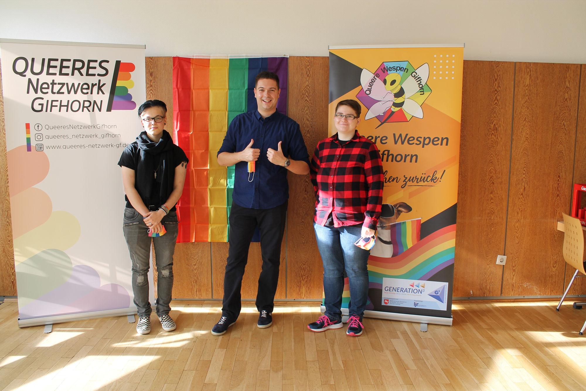 Mitgliederversammlung des Queeren Netzwerk Gifhorn e.V. am 23.10.2021