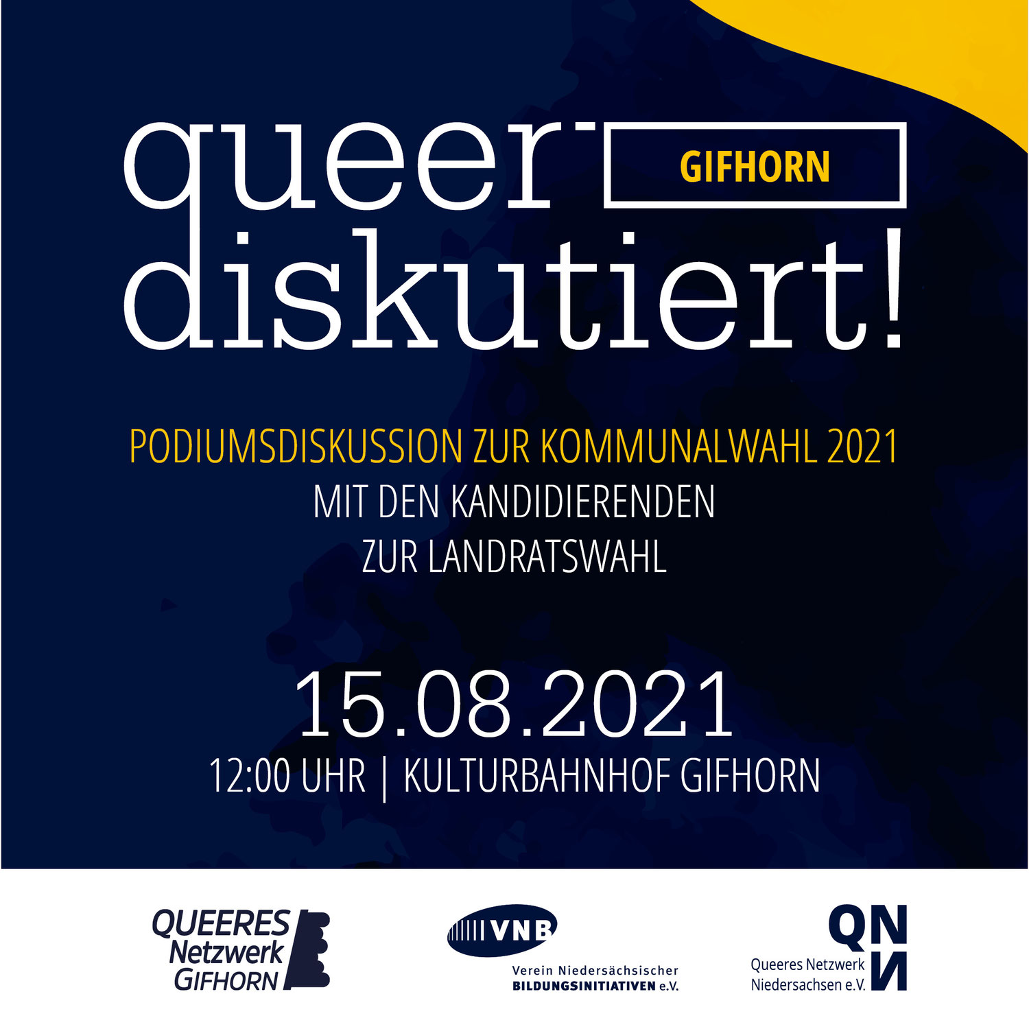 Podiumsdiskussion - Queer diskutiert: Gifhorn!