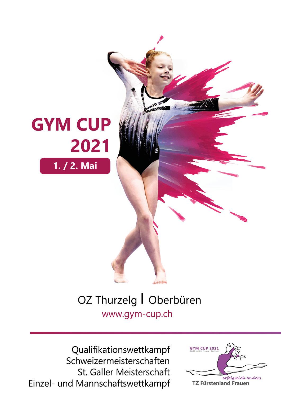 Vorschau Kunstturnwettkampf Gym Cup 2021 in Oberbüren