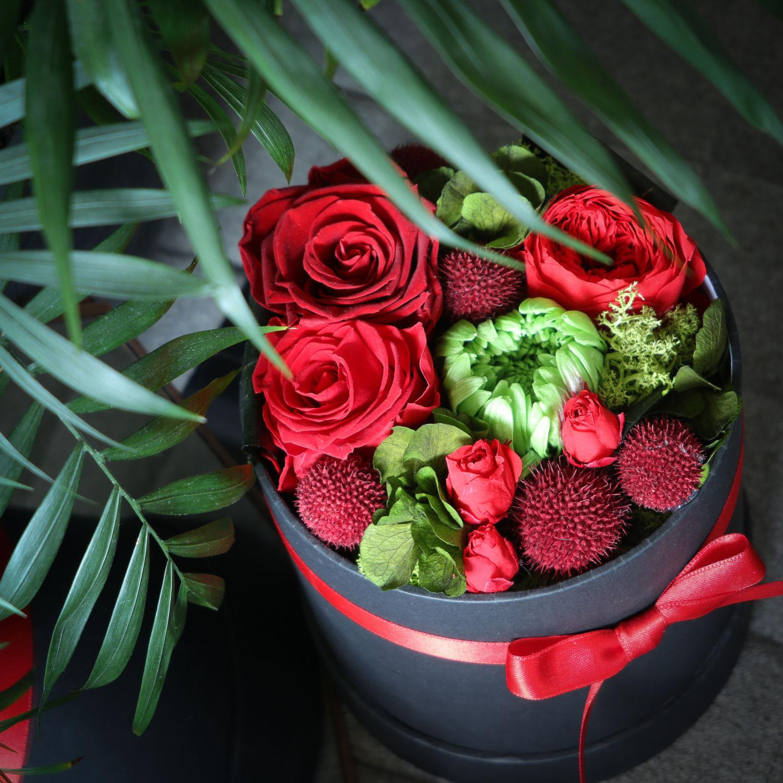 Les fleurs stabilisées