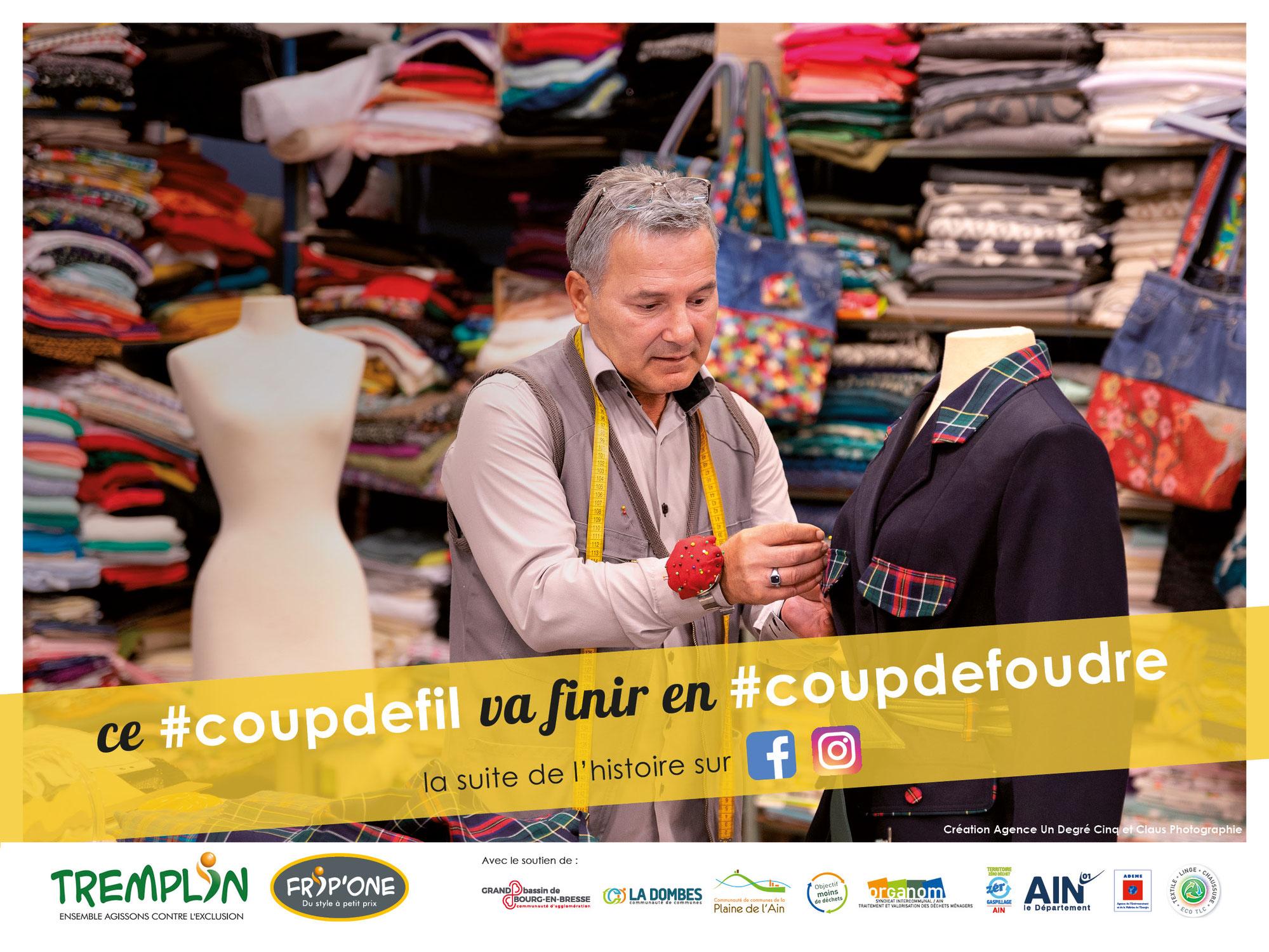 #coupdemain, une campagne d'information pour le recyclage des textiles