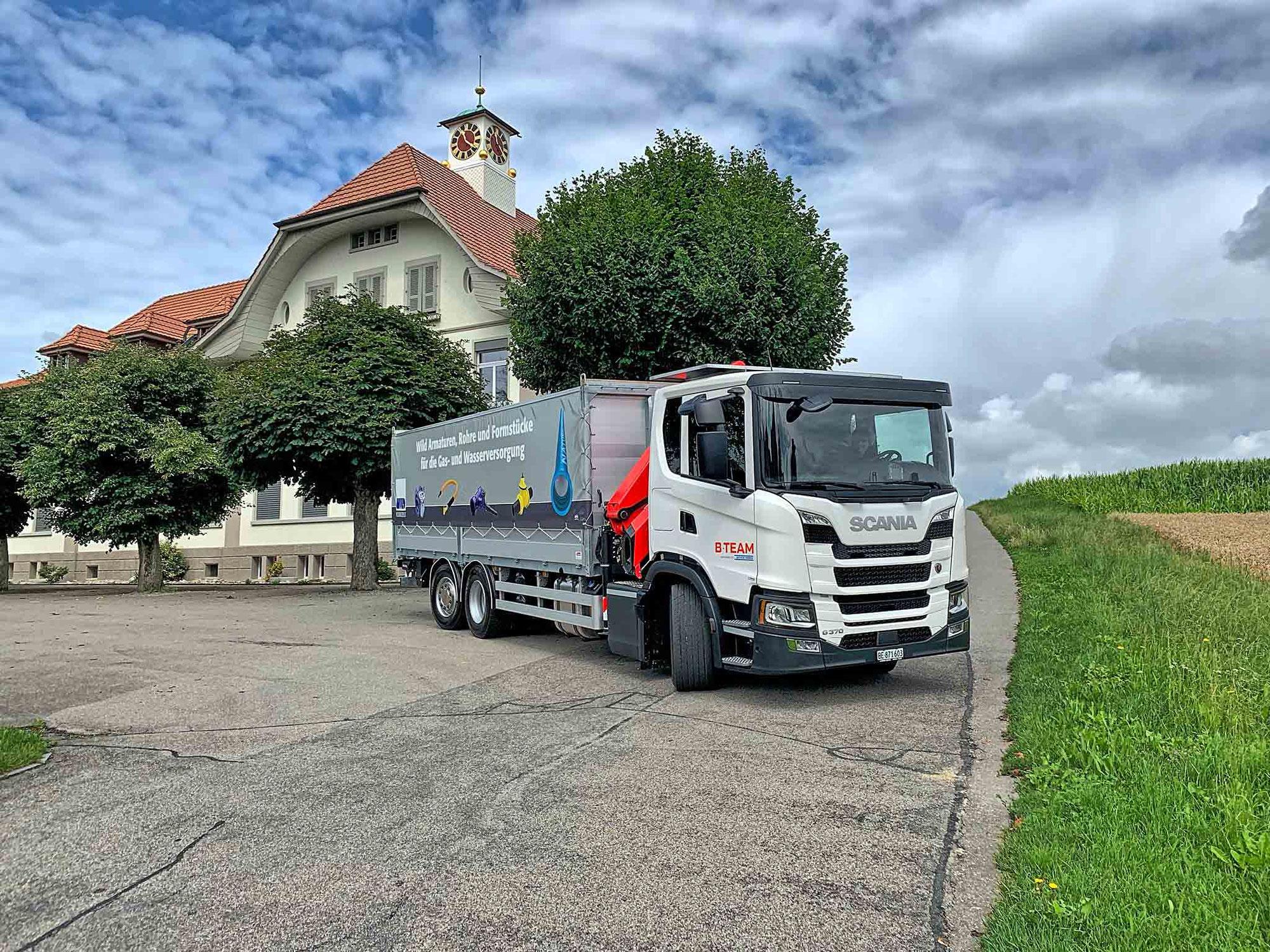 Zum zweiten mal Scania B-Team