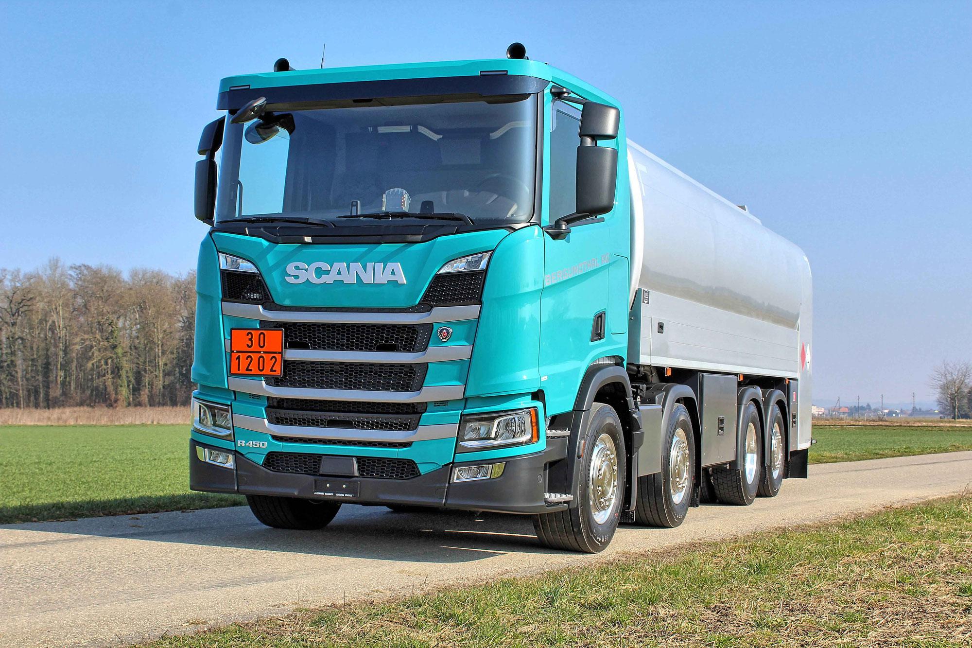 Tankfahrzeug für die Firma Bergundthal