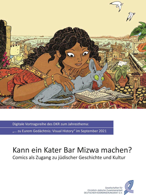 Vortragsreihe im September: Comics als Zugang zu jüdischer Geschichte und Kultur