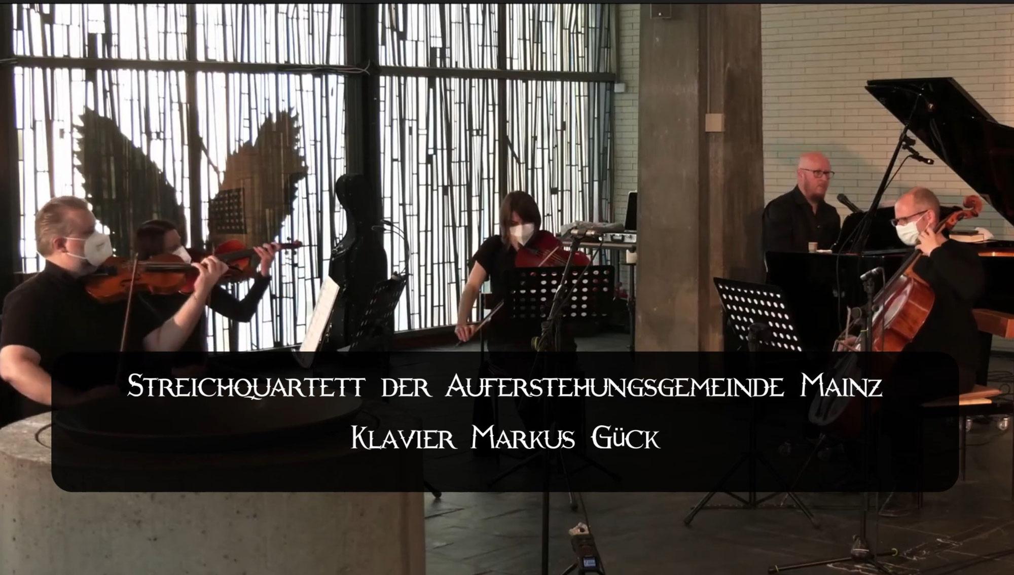Ensembles im Livestream- Das Klavierquintett