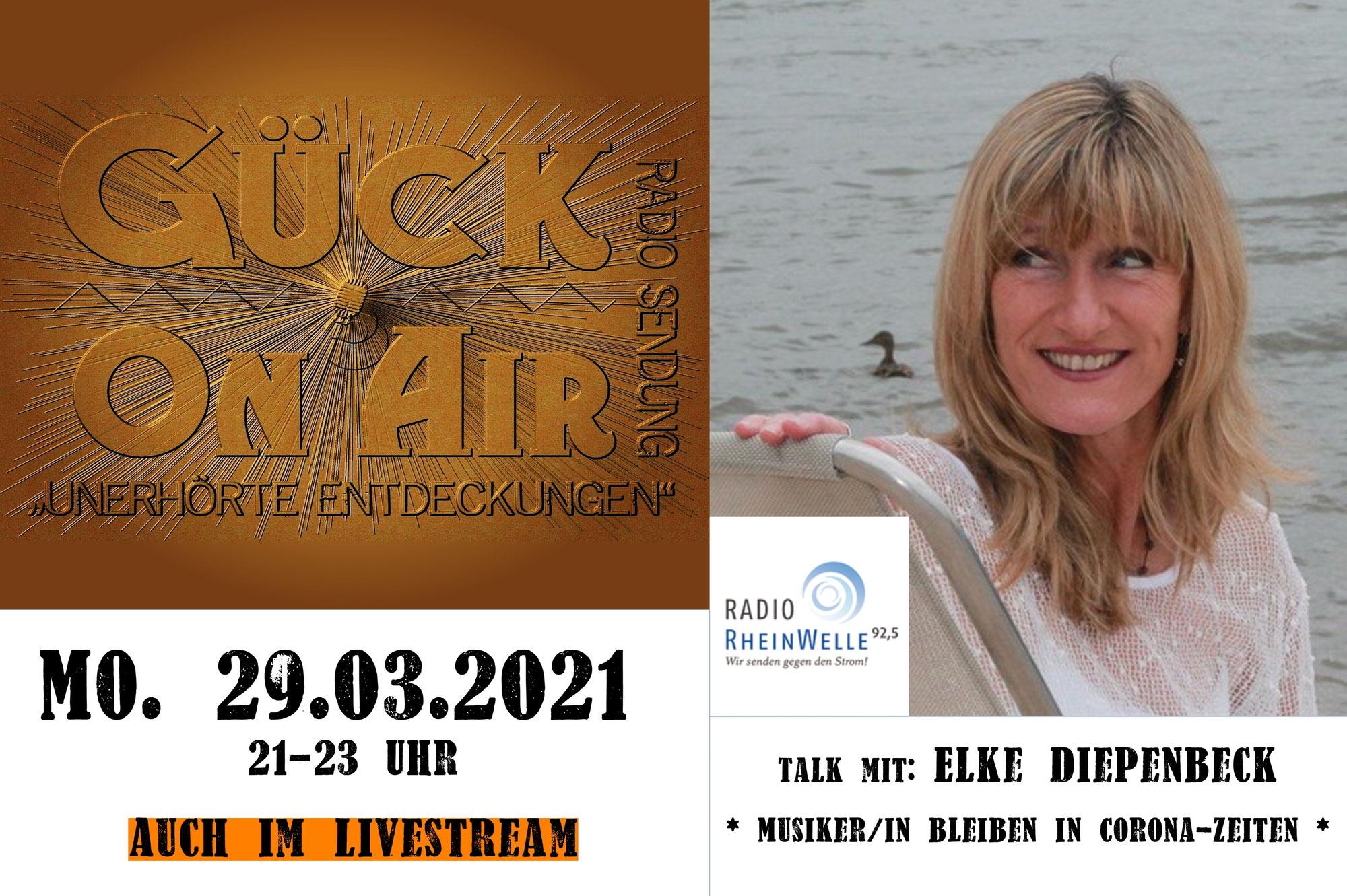 Musik-Talk mit Elke Diepenbeck
