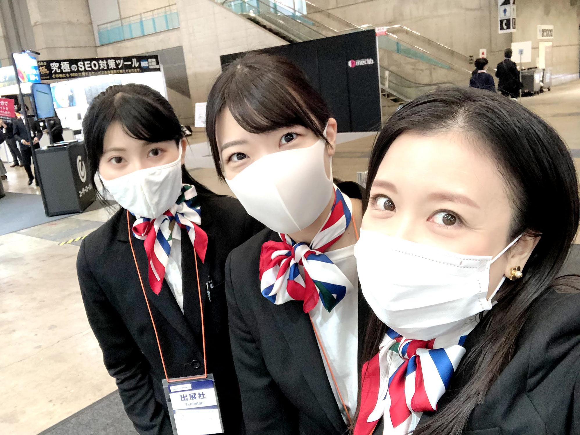 第11回 Japan IT Week 秋にてイベントコンパニオン★日下部純、白鳥音々、Mikako.I