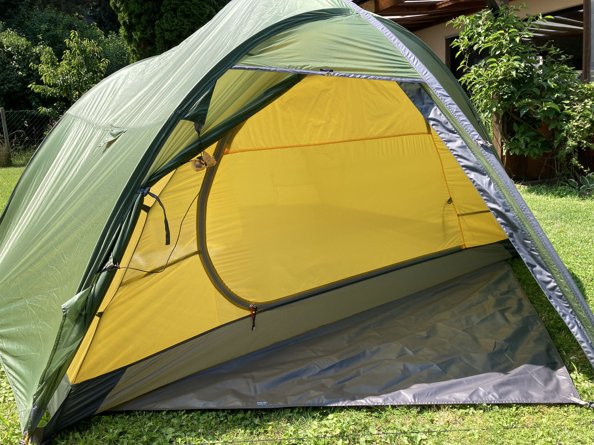Mein neues Exped Orion 3 UL Zelt