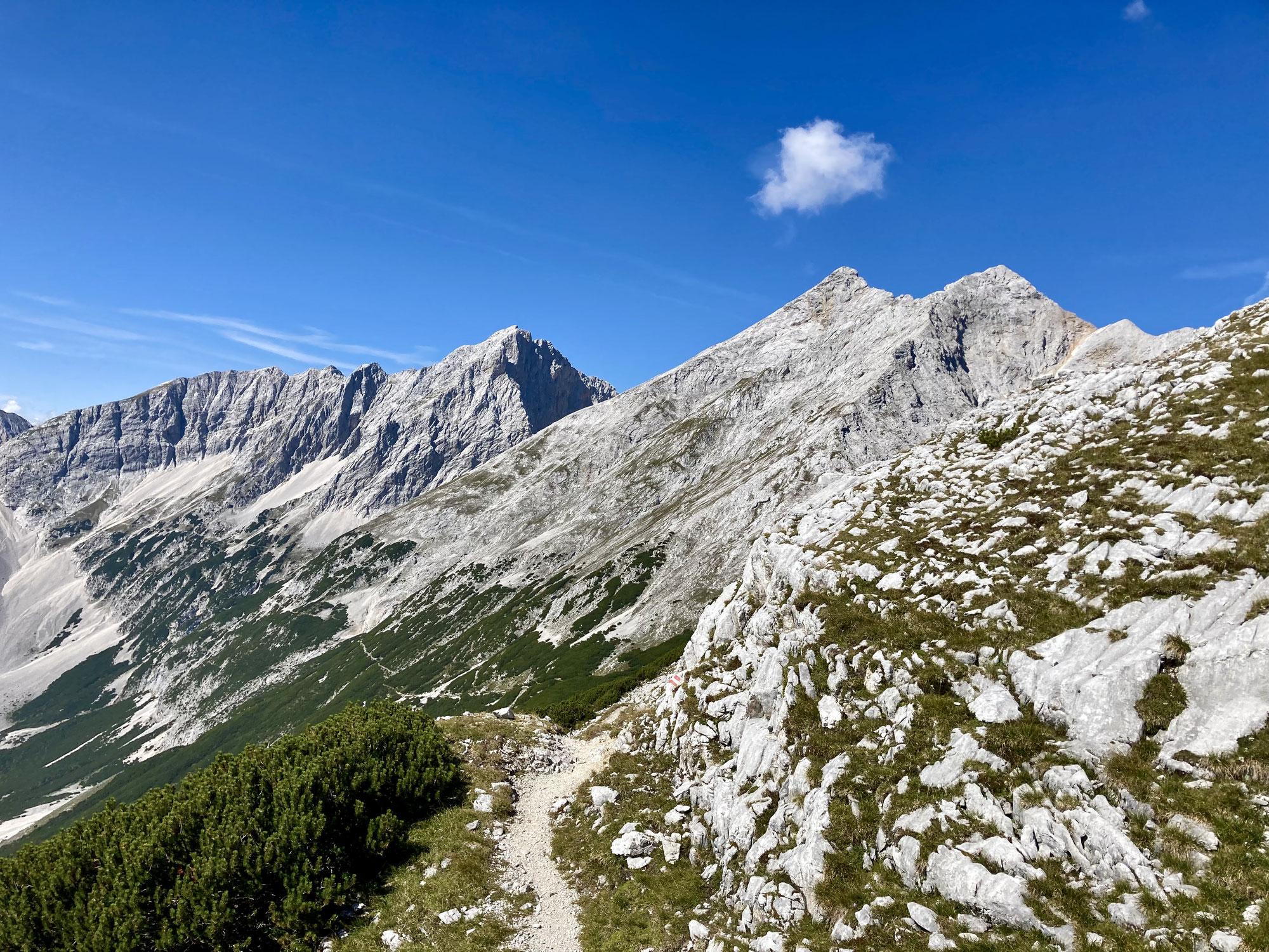 Karwendel, Zillertaler Alpen und Achensee
