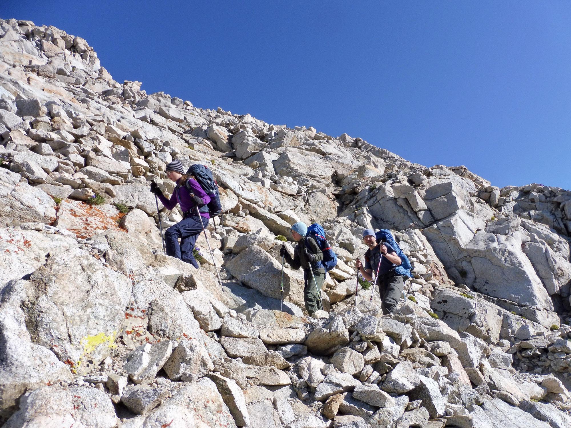 Abenteuer John Muir Trail mit Kinder
