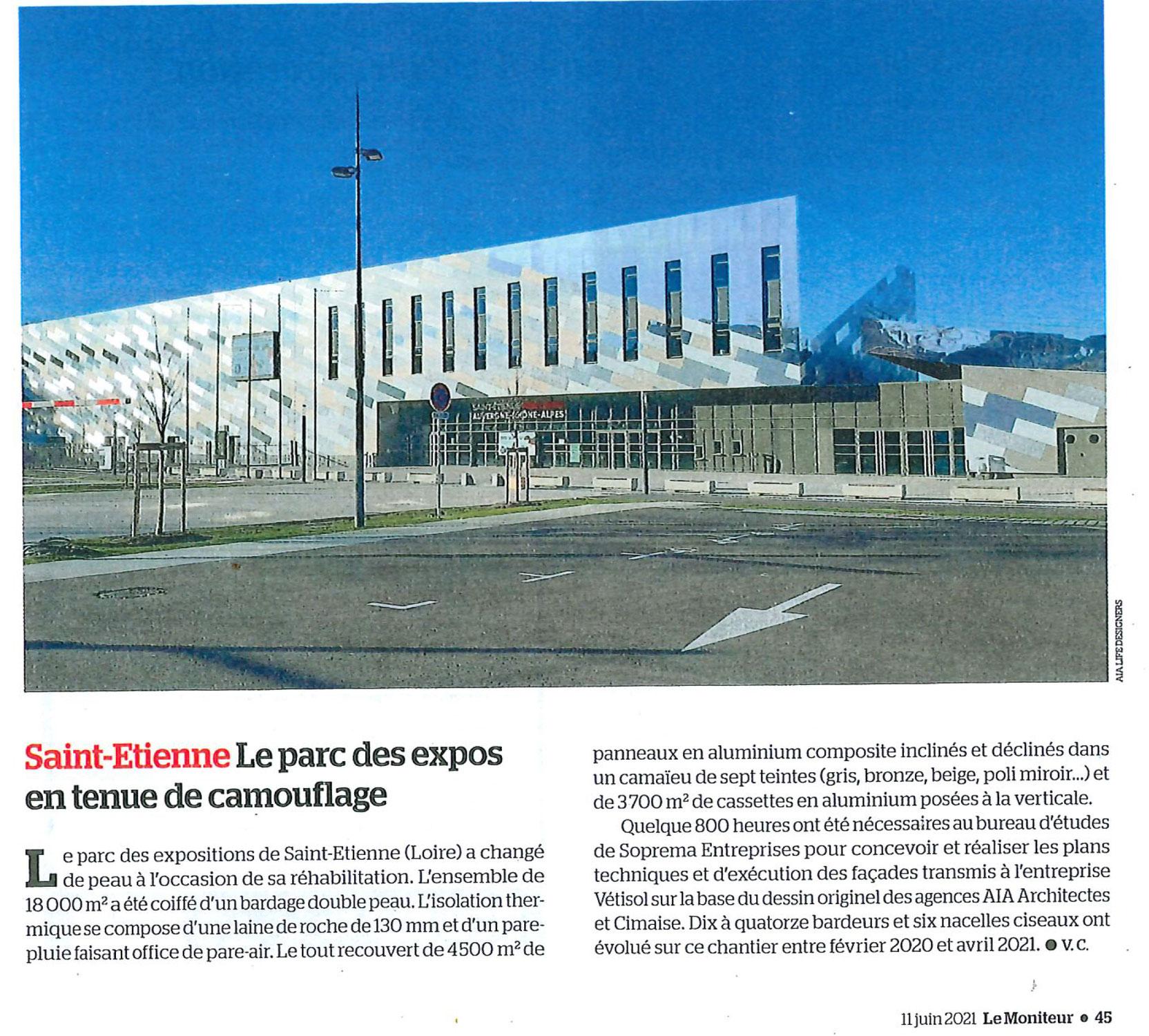 PARC DES EXPOSITIONS DE SAINT-ETIENNE