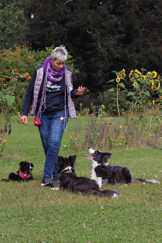 Ulla: Unsere neue Agility-Trainerin