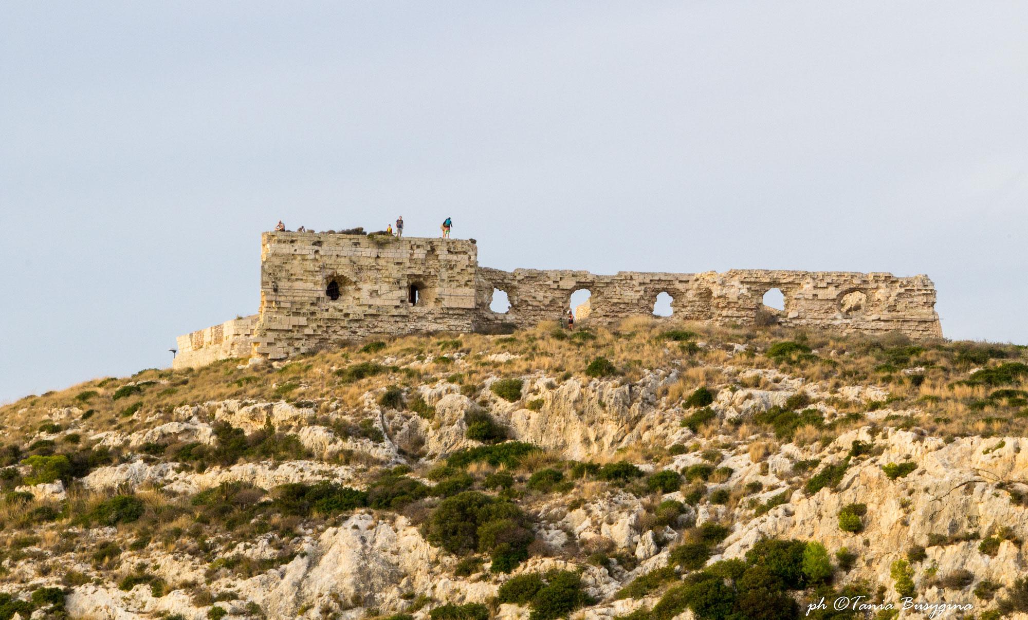 Восхождение на холм Святого Илии в Кальяри