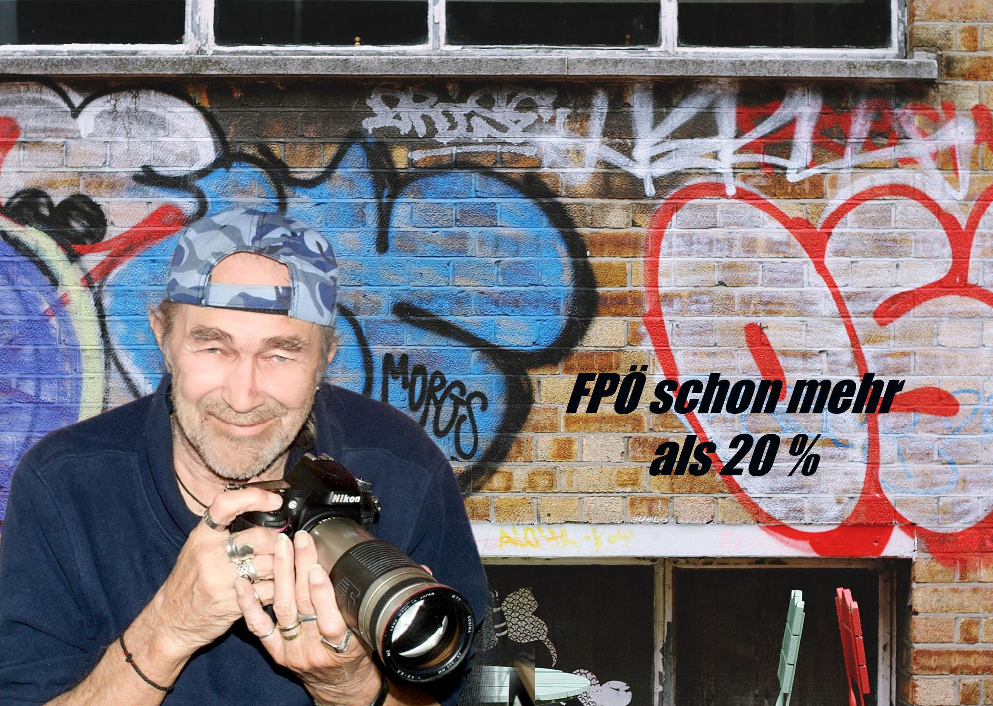 FPÖ schon mehr als 20 Prozent Wähleranteil