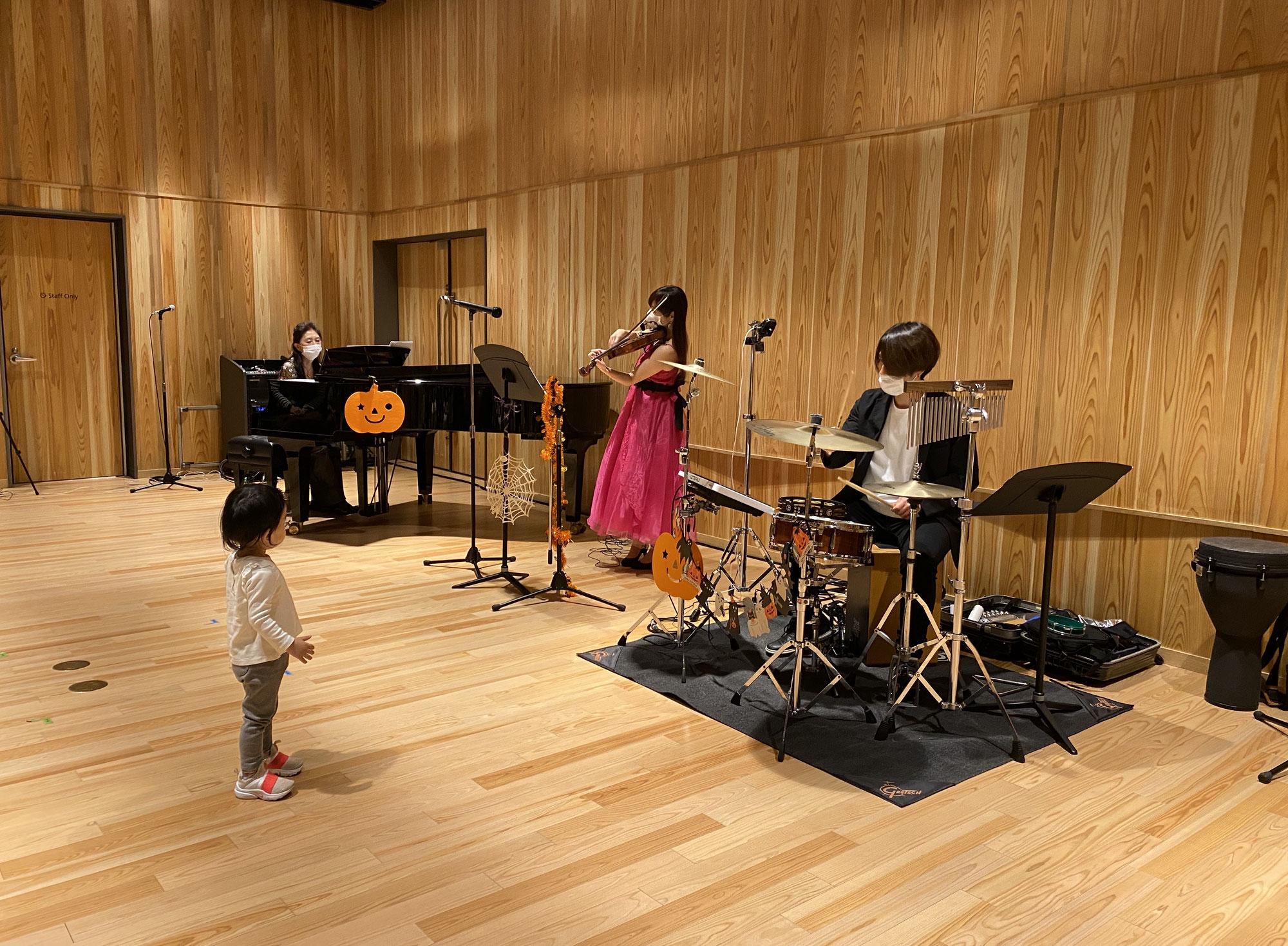0歳から、子供も一緒に♪コンサート、vol、48、49、50開催!!