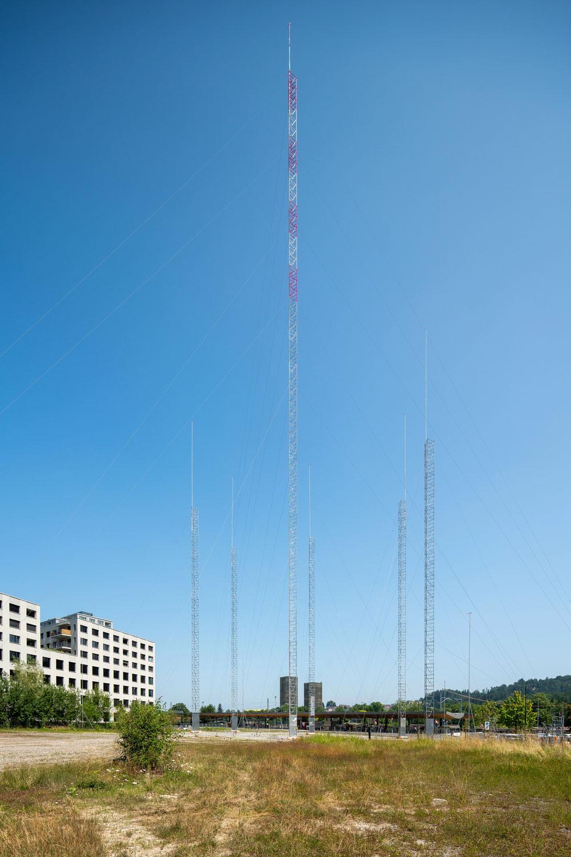 Ein Turm schreibt Firmengeschichte