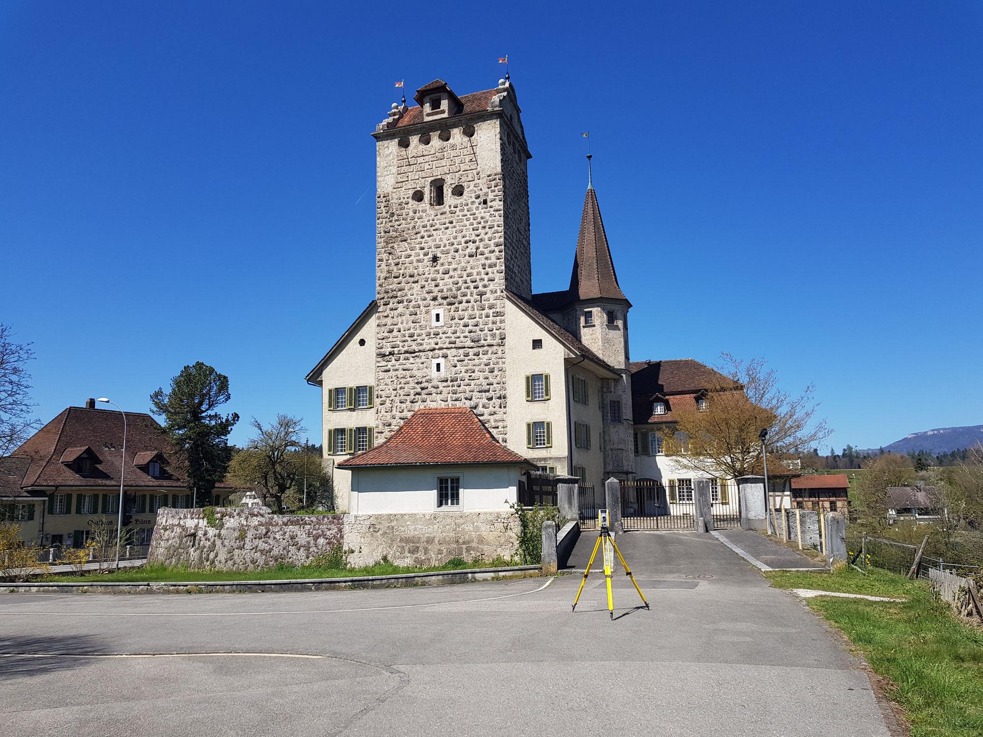Schloss Vermessung