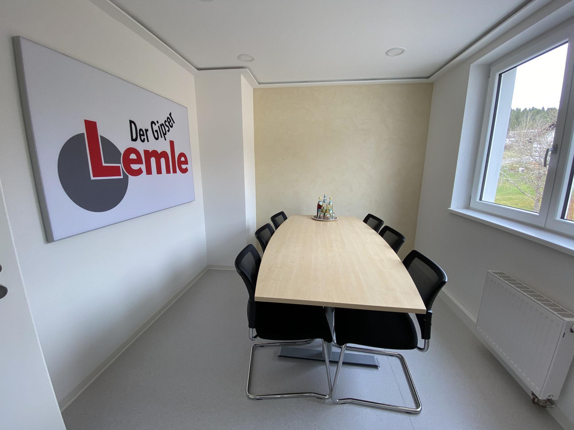 Unser neuer Besprechungsraum