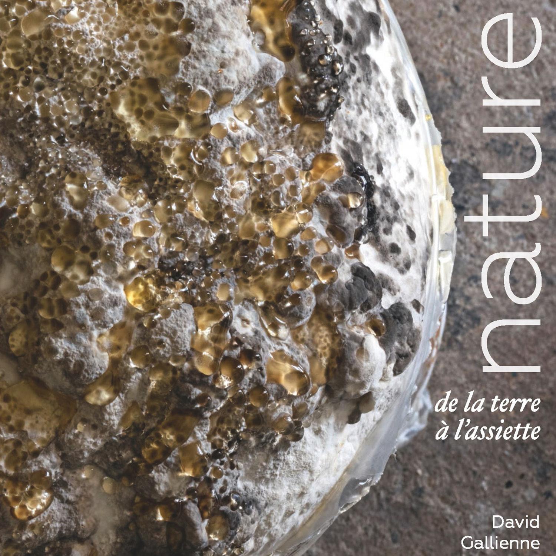 Le Chef David Gallienne publie : NATURE, de la terre à l'assiette