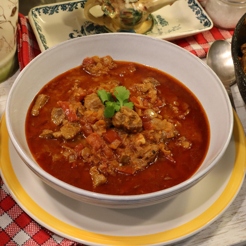 GOULASCH A LA HONGROISE ou goulache, ou la soupe de goulasch
