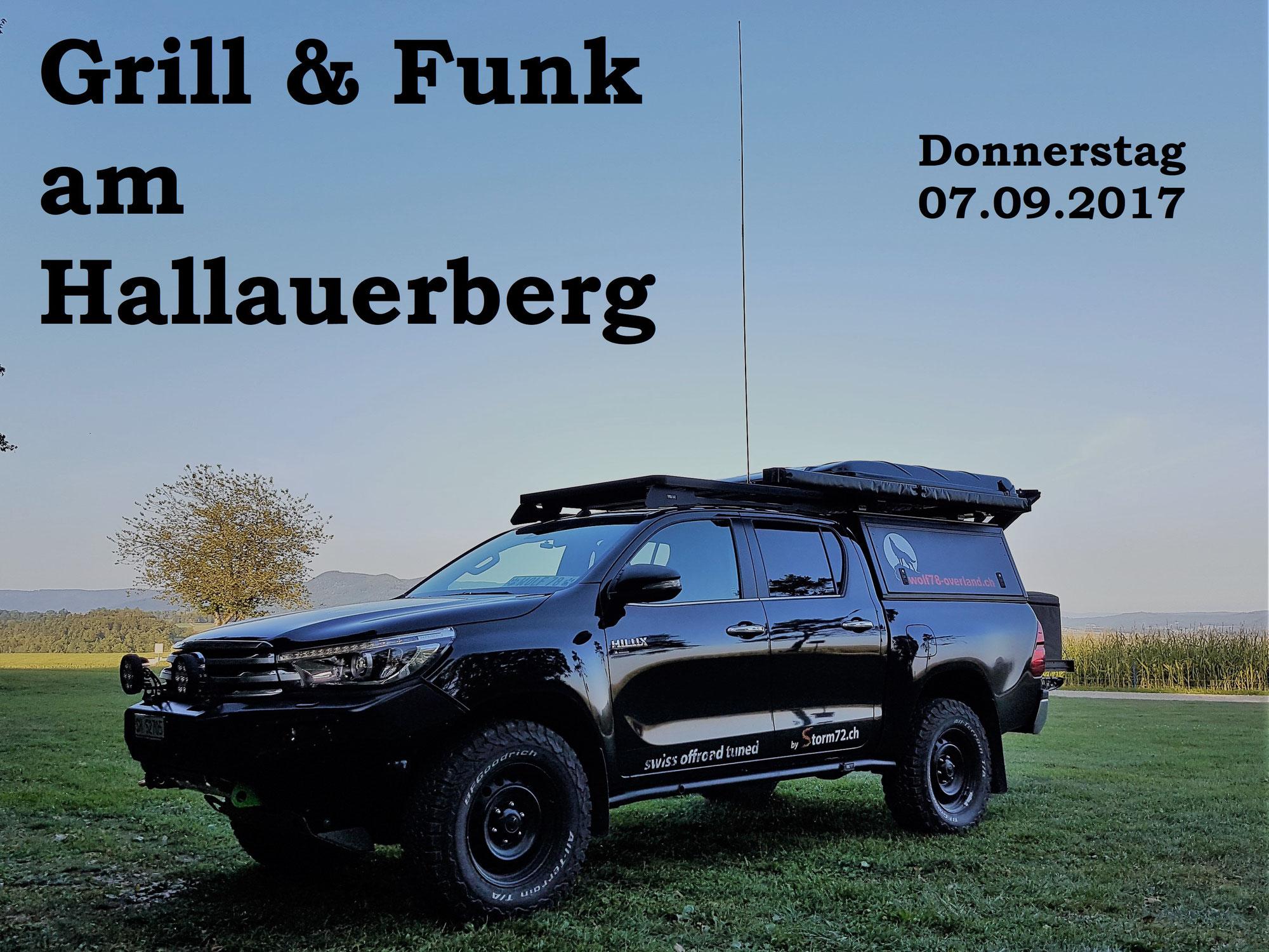 Grill & Funk am Hallauerberg