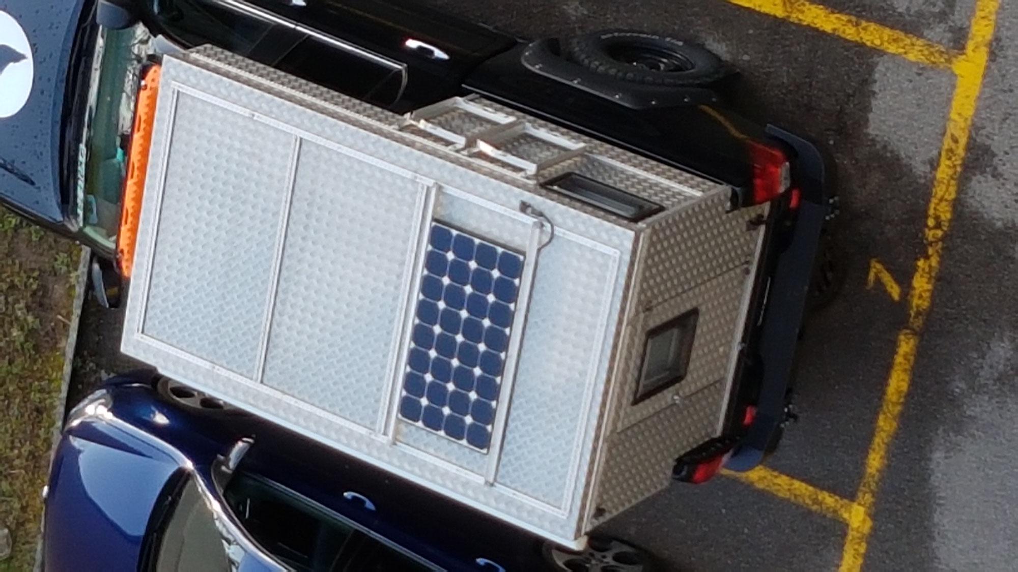 Upgrade Solar Anlage für unsere EXKAB 1 Wohnkabine