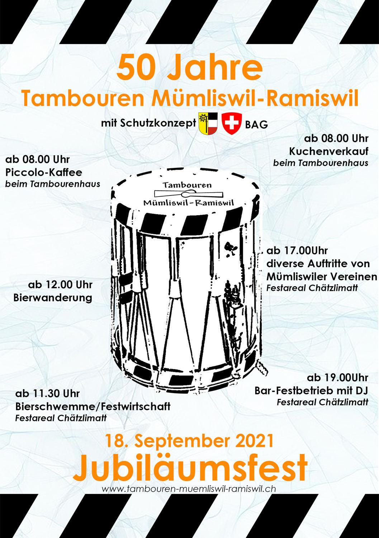 Jubiläumsfest 18. September 2021